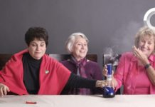 Friday Funny Grandmas smoking weed for the first time