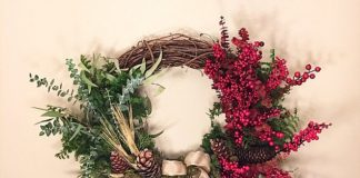 Holiday wreath made with marijuana brings holidays, pot together