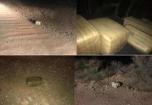 Tucson Smugglers Toss Marijuana and Flee Before Being Arrested